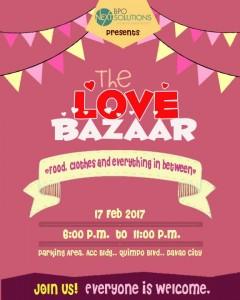 NEXT BPO Davao Valentine Love Bazaar