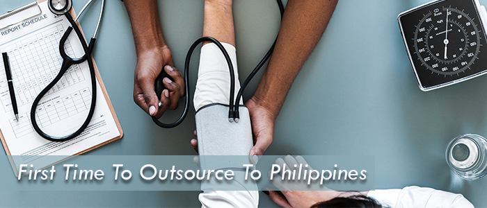 first time to outsource to philippines